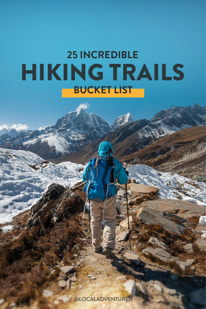 25 Best Treks in the World for Your Hiking Bucket List