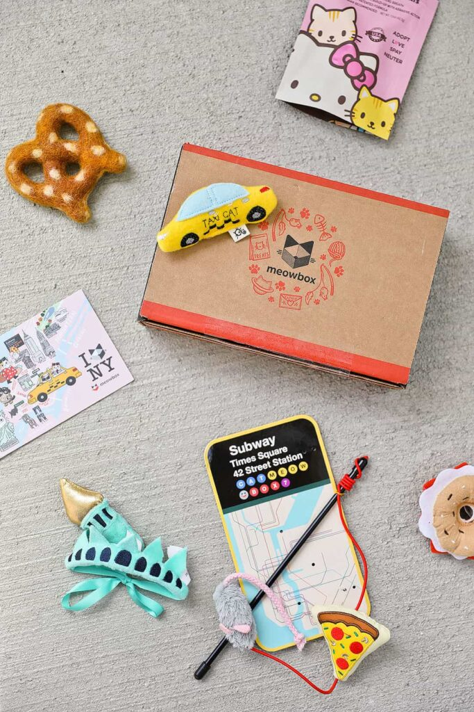 Meowbox Cat Box Subscription + 11 Best Travel Subscription Boxes to Bring Adventure Home