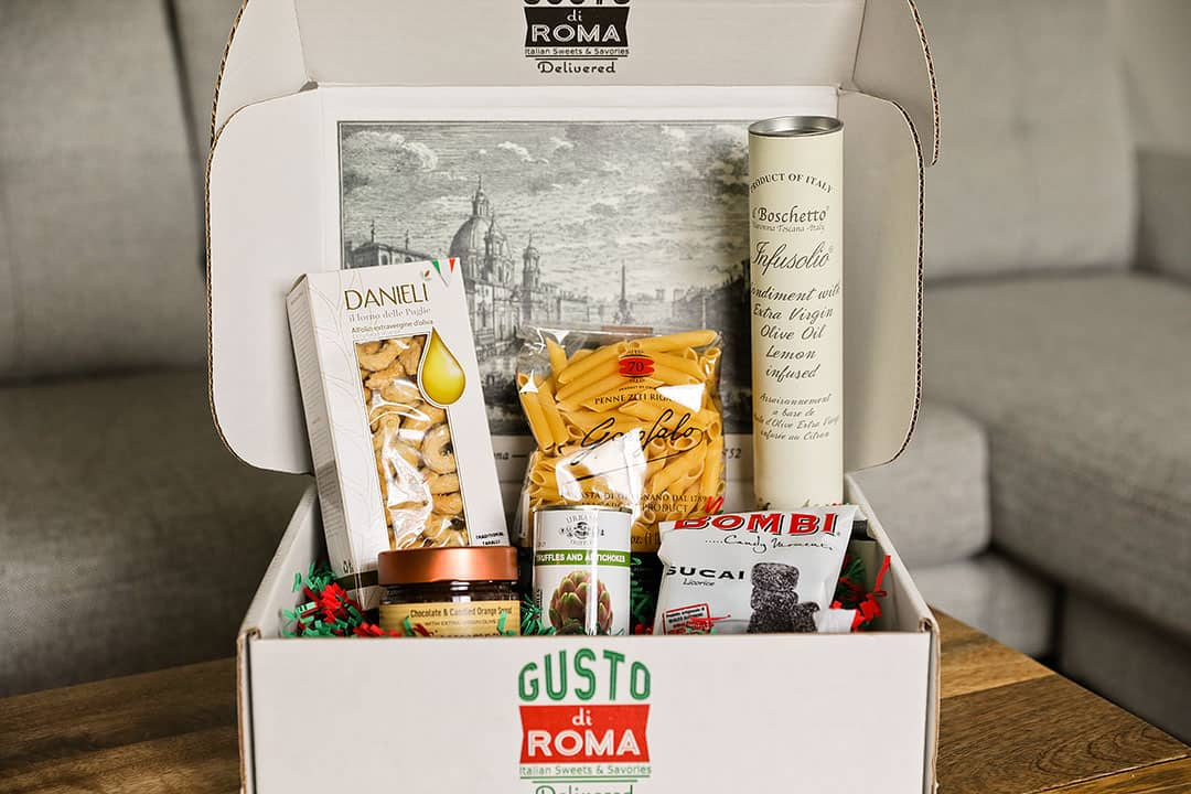Gusto di Roma Italian Subscription Box + 11 Best Travel Subscription Boxes to Bring Adventure Home