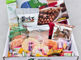 Chinese Snacks from Universal Yums (International Snack Subscription Box).