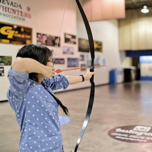 Archery Lessons at Impact Archery Las Vegas