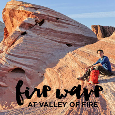 Fire Wave Valley of Fire State Park.