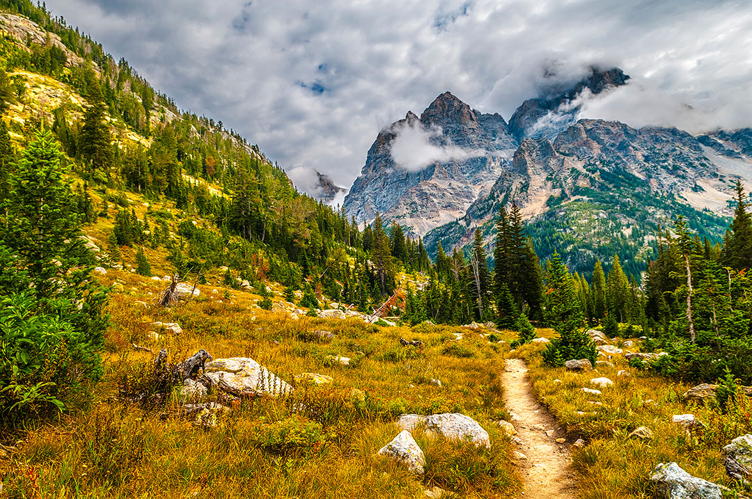 Cascade Canyon Trail Grand Teton National Park + 15 Best Day Hikes in the US