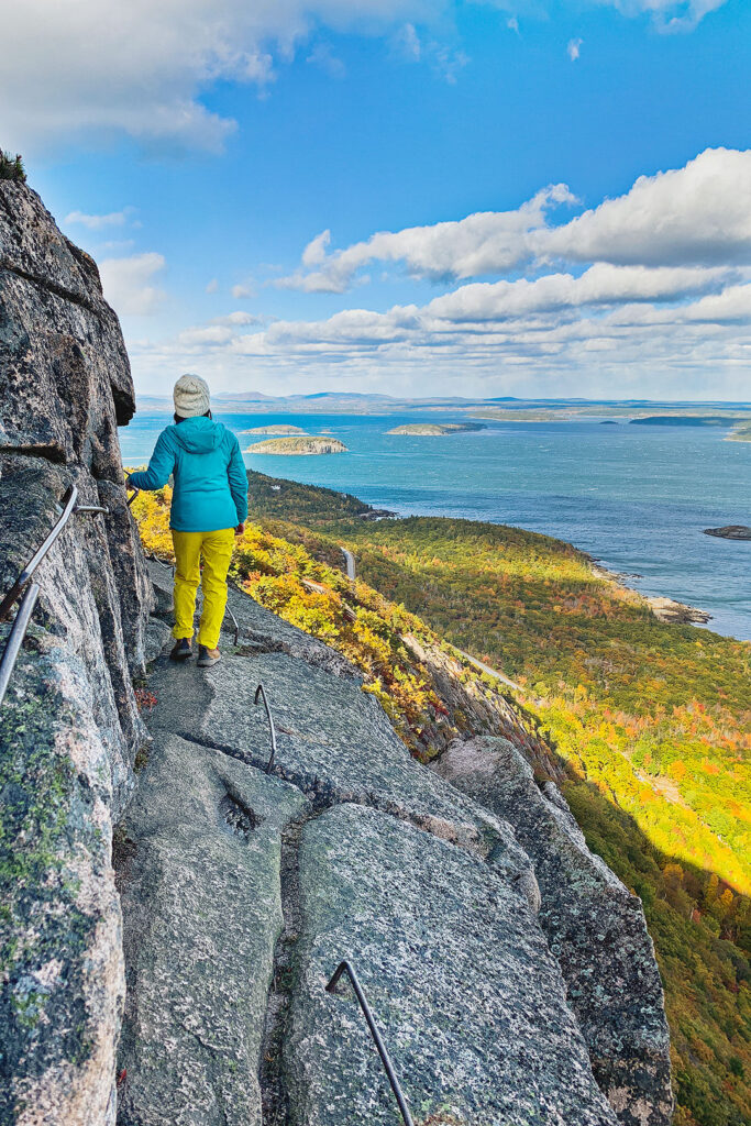 Precipice Trail at Acadia National Park + 15 Best Hikes in the US