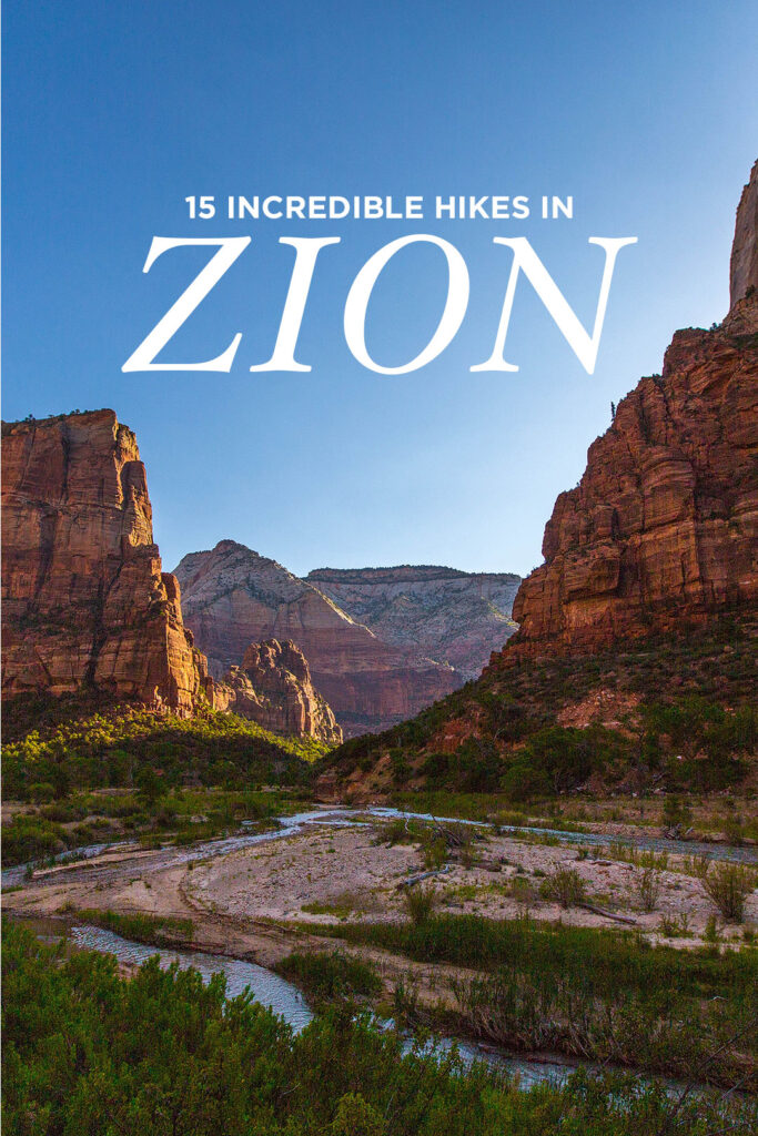 15 Incredible Zion Hikes You Can't Miss