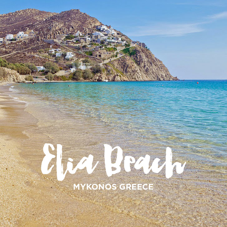 Elia Beach Mykonos Greece – Best of Mykonos Beaches
