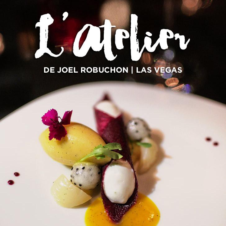 L'Atelier de Joel Robuchon Las Vegas