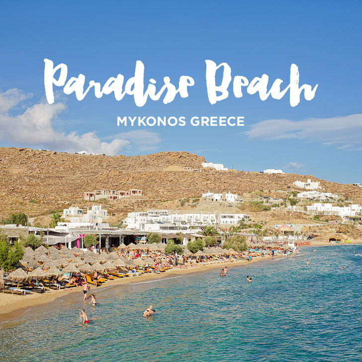 Best Party Beach in Mykonos – Paradise Beach Mykonos Greece