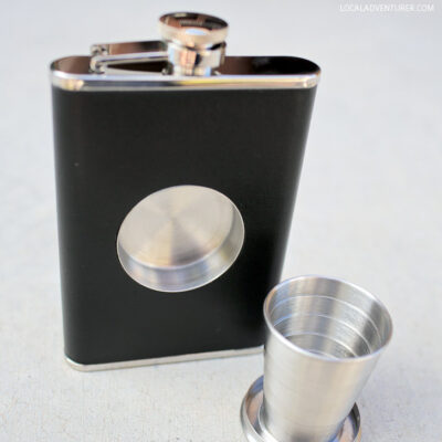 Perfect Travel Camping Flask.