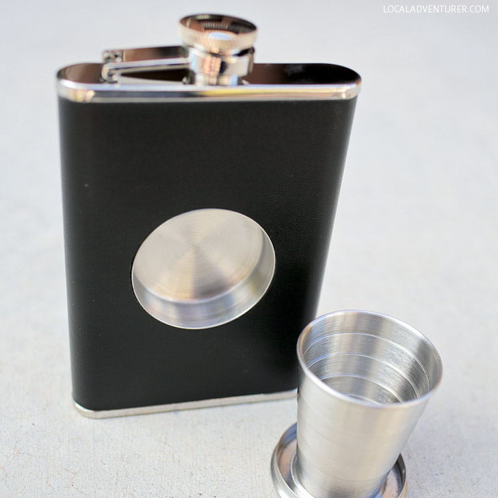 The Perfect Travel Camping Flask + Giveaway