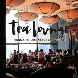 Afternoon Tea at the Mandarin Oriental Las Vegas