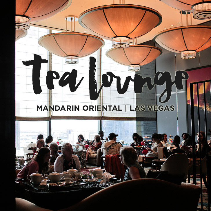 Afternoon Tea at the Mandarin Oriental Las Vegas