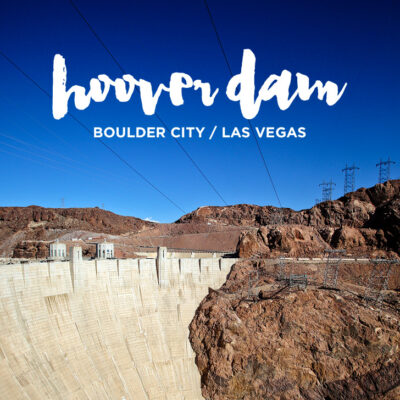 The Hoover Dam Las Vegas.