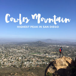 Most Popular Hike in San Diego – Cowles Mountain Hike