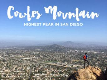 Cowles Mountain Hike (Hiking San Diego).