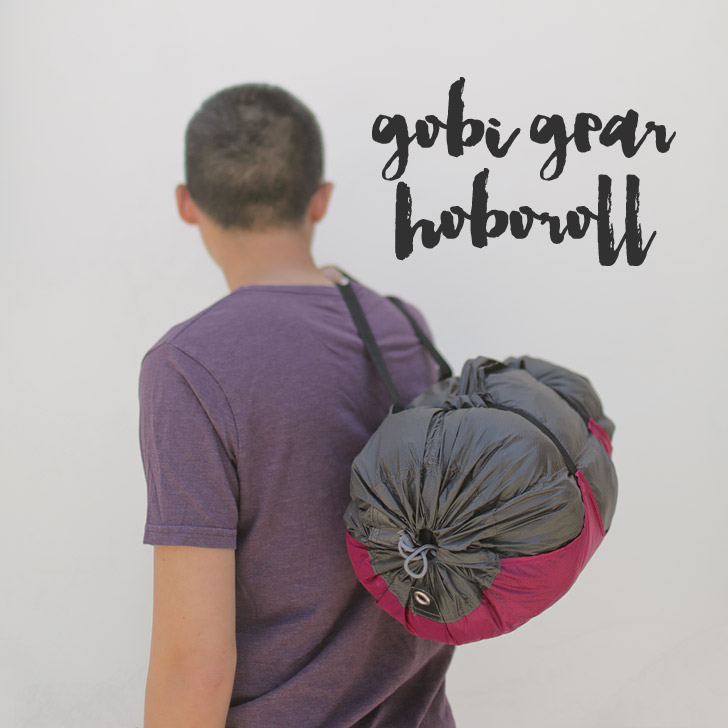 Gobi Gear Hoboroll – Perfect Stuff Sack for the Modern Traveler