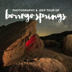 Anza Borrego Desert State Park Jeep and Photo Adventure