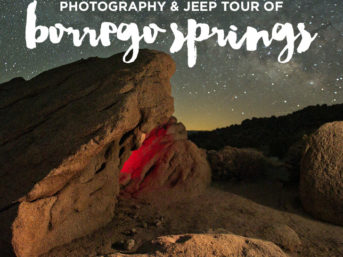 Anza Borrego Desert State Park Jeep and Photo Adventure.