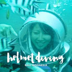Helmet Diving in Bali Indonesia