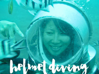 Helmet Diving Bali Indonesia.