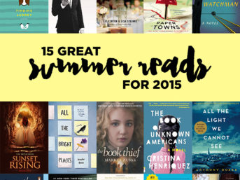 15 Great Summer Reads 2015.