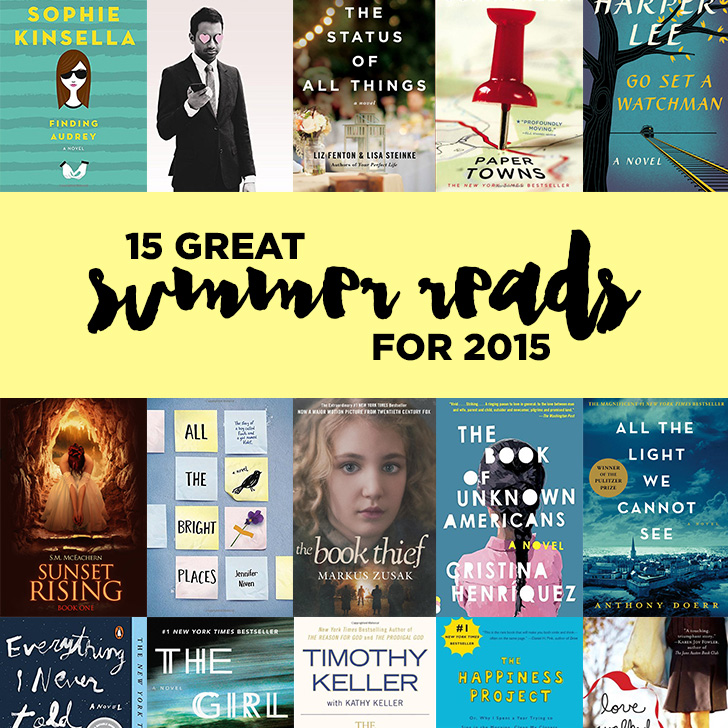 15 Summer Reads for 2015