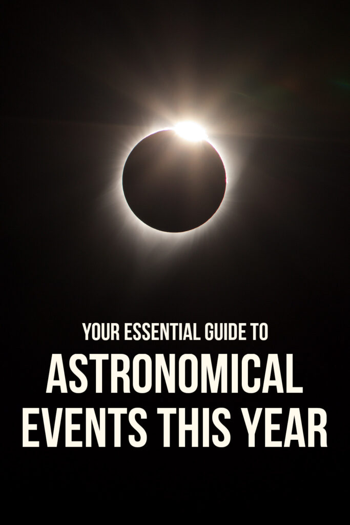 Your Essential Guide to Astronomical Events in 2019 + Total Solar Eclipse Dates You Won't Want to Miss // Local Adventurer #astronomy #astrophotography #totaleclipse