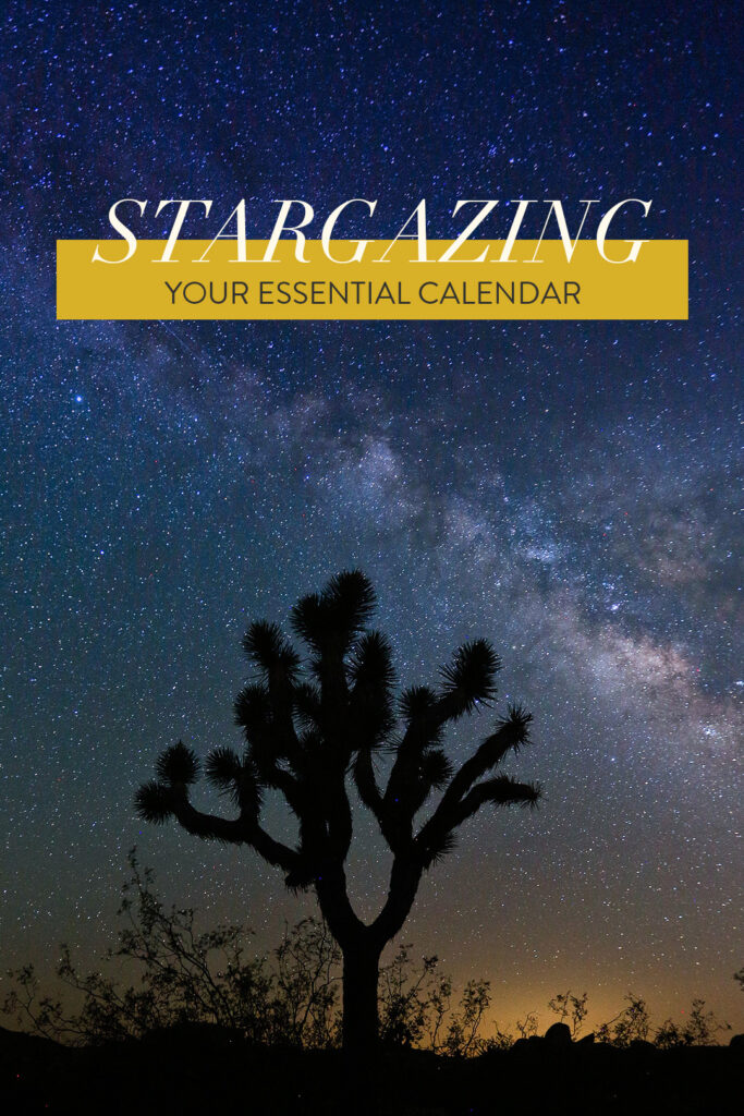 2019 Astronomy Calendar // Local Adventurer #stargazing #astronomy #astrophotography