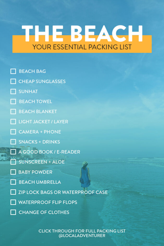 Your Essential Beach Packing List