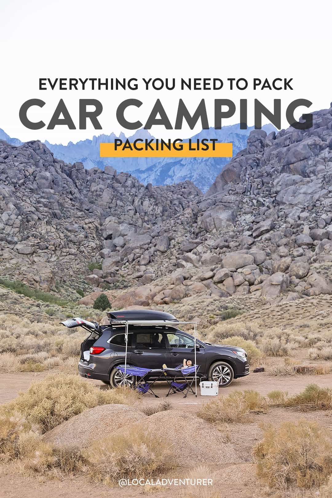 21 Car Camping Essentials - Everything You Need to Pack