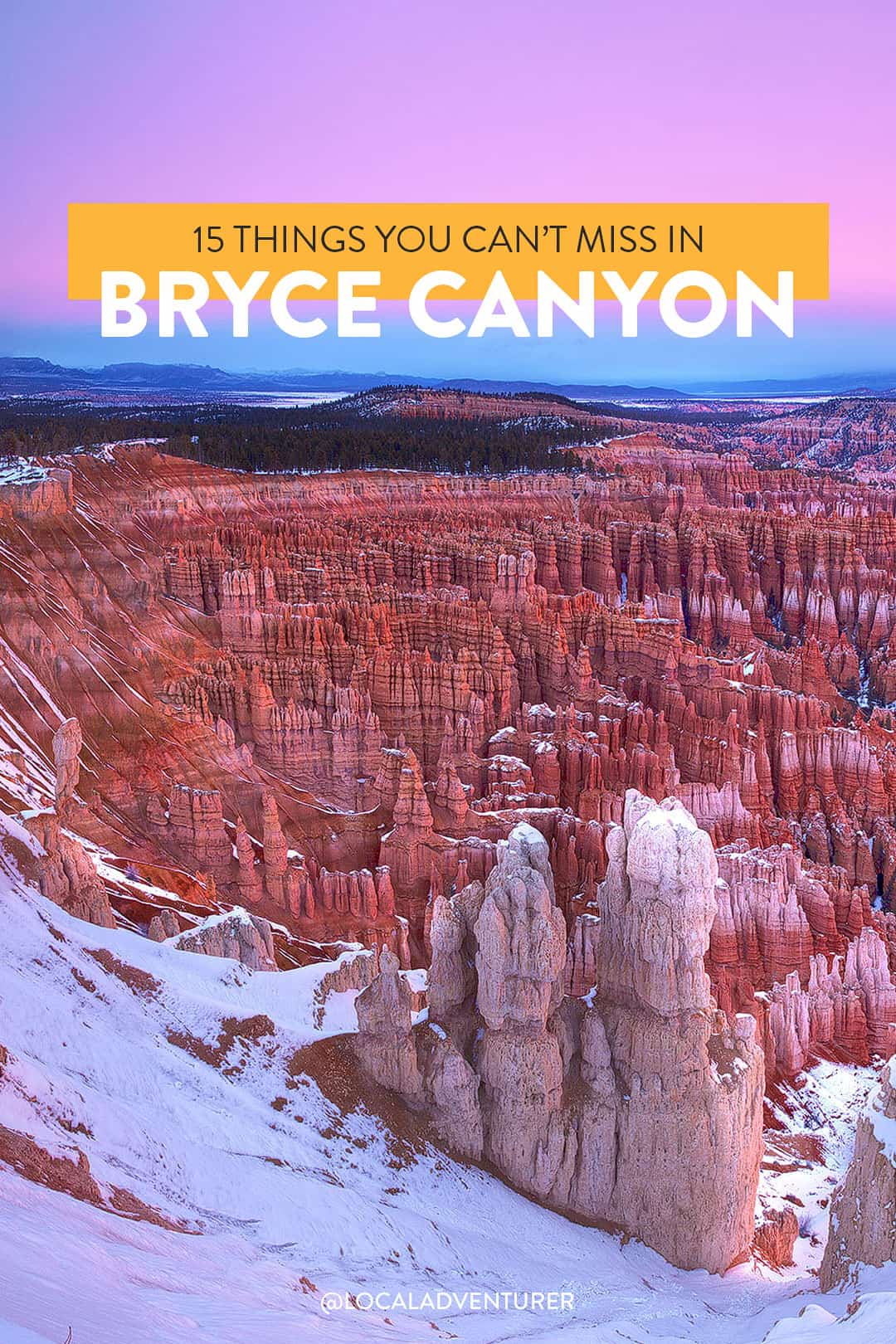 15 Incredible Things to Do in Bryce Canyon National Park Utah