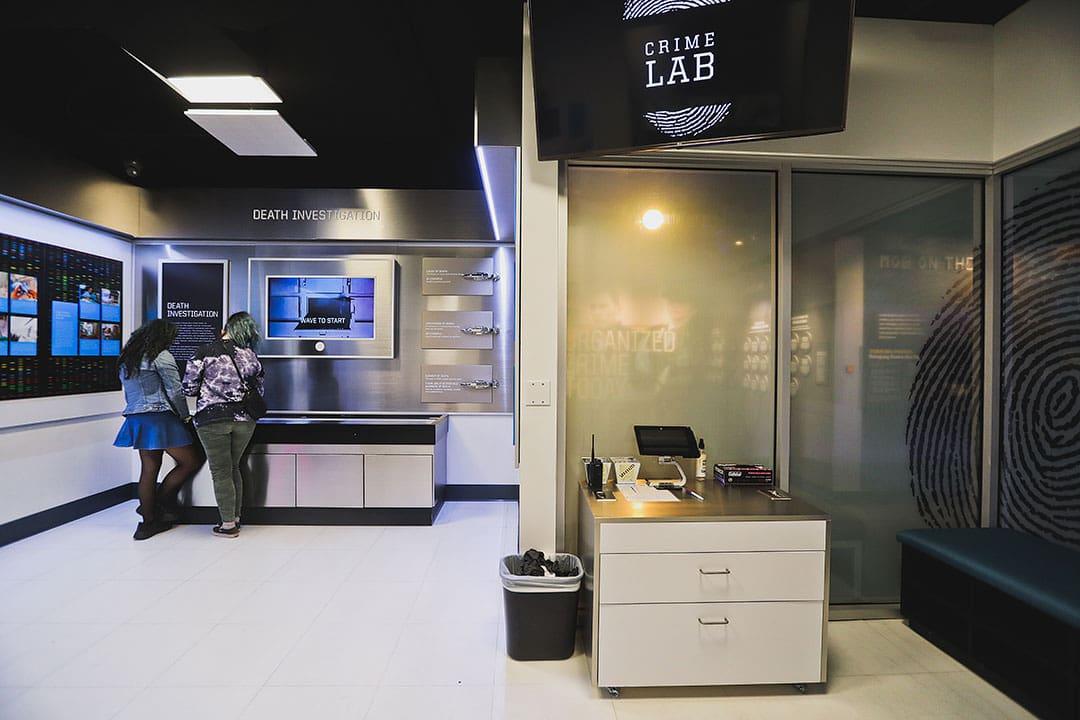 vegas mob museum crime lab