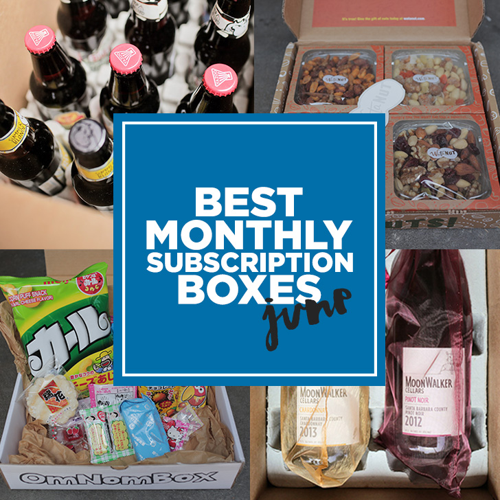 Best Monthly Subscription Boxes: Our June Favorites.