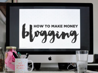 How to Make Money Blogging.