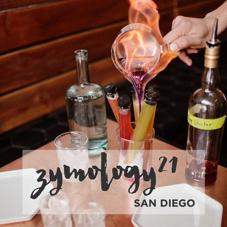 Food Science at Zymology 21 / Gaslamp District San Diego