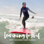 Learning to Surf with San Diego Surf School