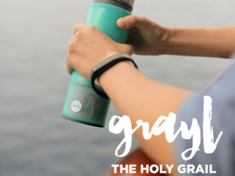 Grayl - the Holy Grail of Water Filtration on the Go.