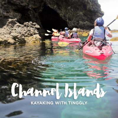 Kayaking the Channel Islands National Park.