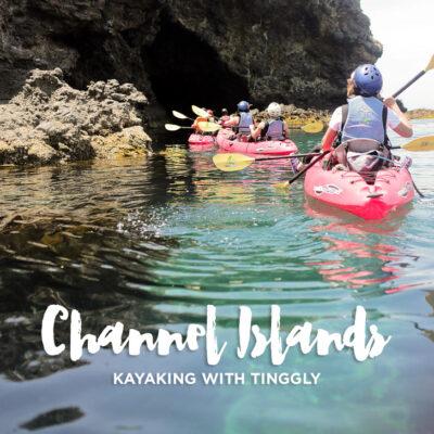 Kayaking the Channel Islands National Park.
