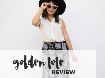 My First Golden Tote Review.