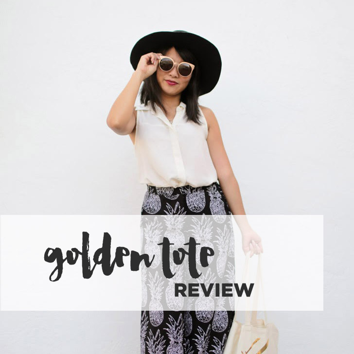 First Golden Tote – My Virtual Personal Shopper!