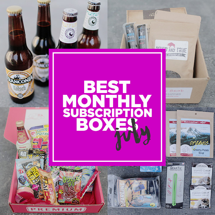 Best Subscription Boxes 2015.