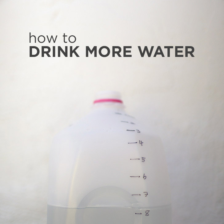 How to Drink More Water 30 Day Challenge