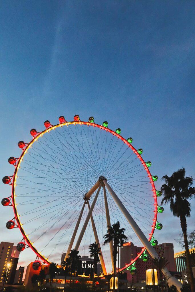 observation wheel in las vegas