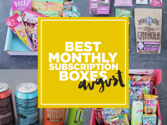 Favorite Monthly Subscription Boxes - August 2015.