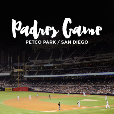 San Diego Padres Game at Petco Park.