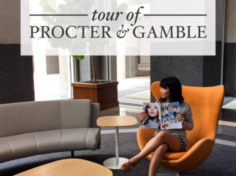 Tour of Procter and Gamble Headquarters in Cincinnati.