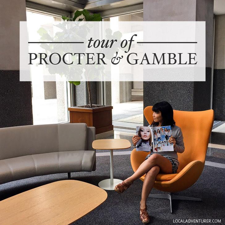 Tour of Procter and Gamble Headquarters in Cincinnati.