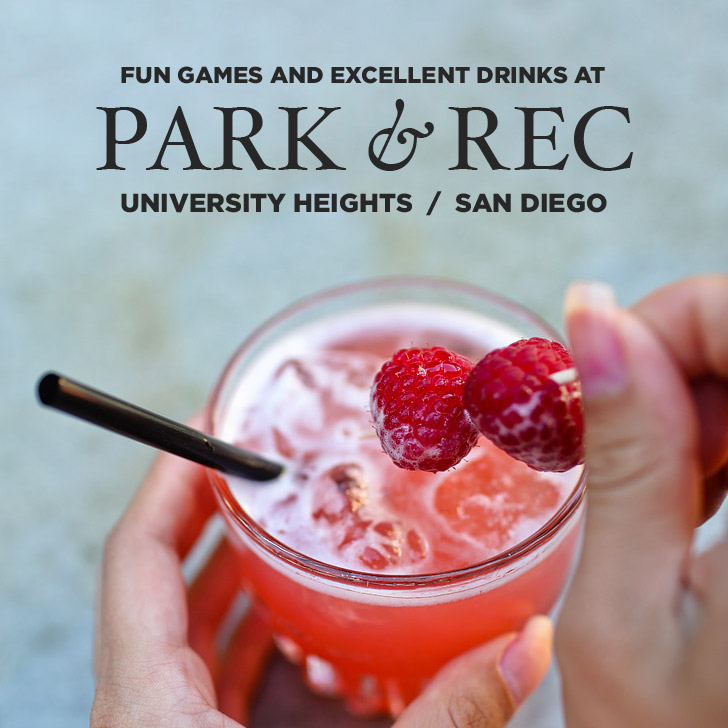 Fun Games and Excellent Drinks at Park & Rec San Diego.