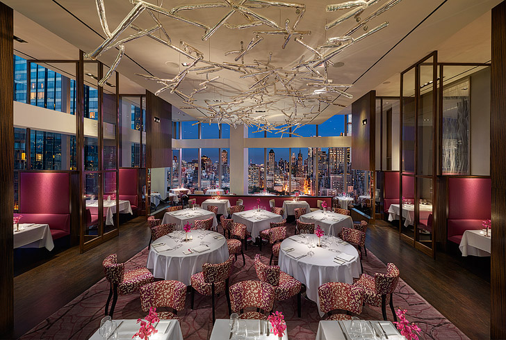 Asiate NYC - Beautiful Views and Fine Dining at the Mandarin Oriental New York.